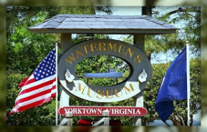 Waterman's Museum Sign