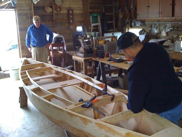 Boat Building The Watermen S Museum