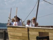 Pirate Ship at Watermen's Museum
