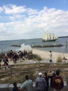 Watermens beach cannon alliance crowd