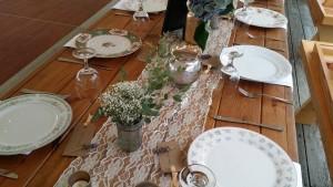 Watermens Bridal Table Setting
