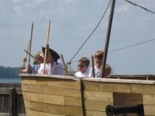 Pirate Ship at Watermen's Museum